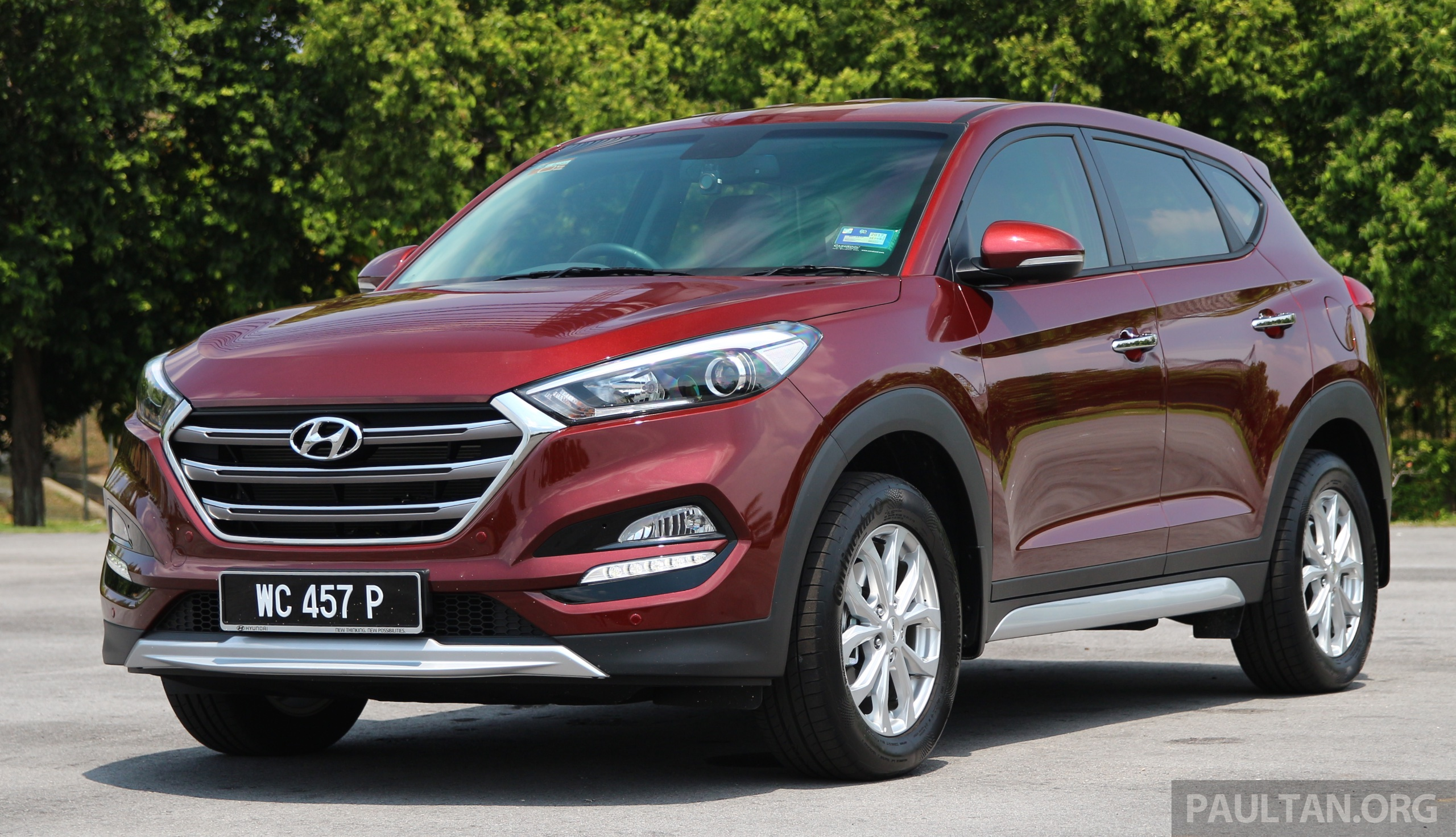 hyundai tucson 1 6 t gdi turbo and 2 0 crdi diesel variants coming to malaysia in q1 2017. Black Bedroom Furniture Sets. Home Design Ideas