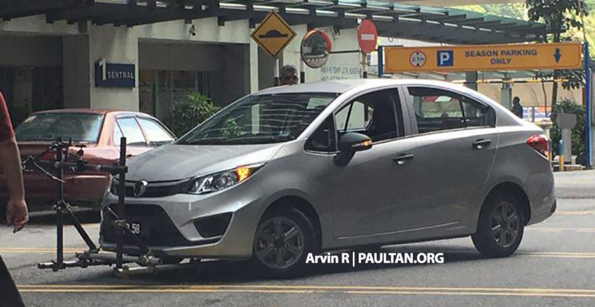 SPIED: 2016 Proton Persona – Iriz sedan undisguised! Image #493416