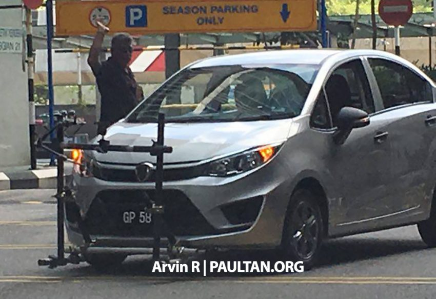 SPIED: 2016 Proton Persona – Iriz sedan undisguised! Image #493418