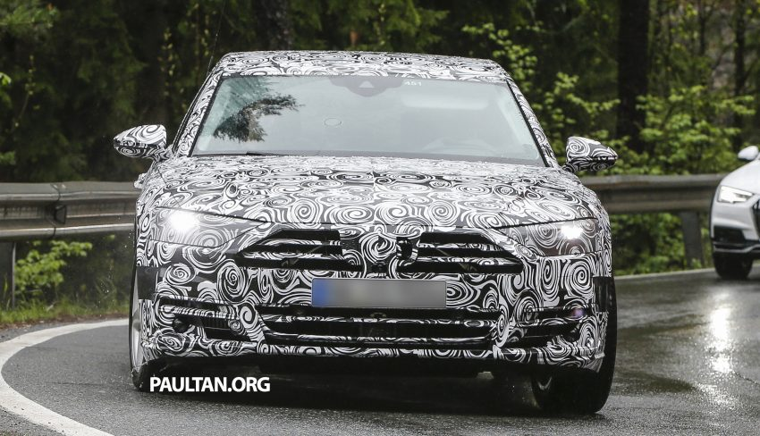 SPIED: 2017 Audi A8 spotted testing for the first time Image #493339
