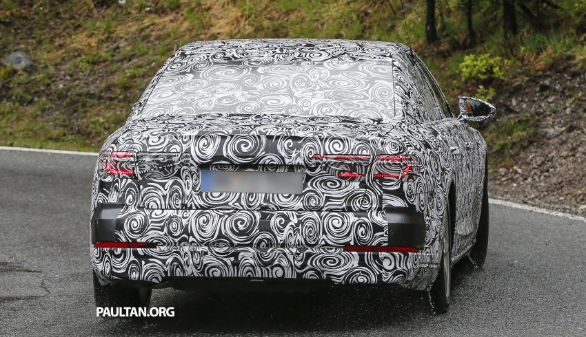 SPIED: 2017 Audi A8 spotted testing for the first time Image #493348