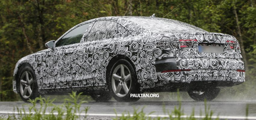 SPIED: 2017 Audi A8 spotted testing for the first time Image #493353