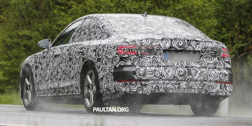 SPIED: 2017 Audi A8 spotted testing for the first time Image #493354