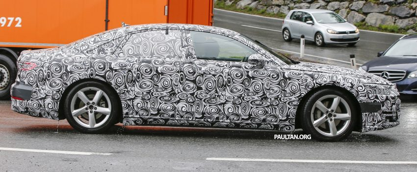 SPIED: 2017 Audi A8 spotted testing for the first time Image #493344