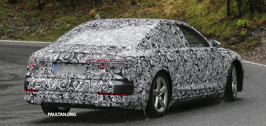 SPIED: 2017 Audi A8 spotted testing for the first time Image #493347