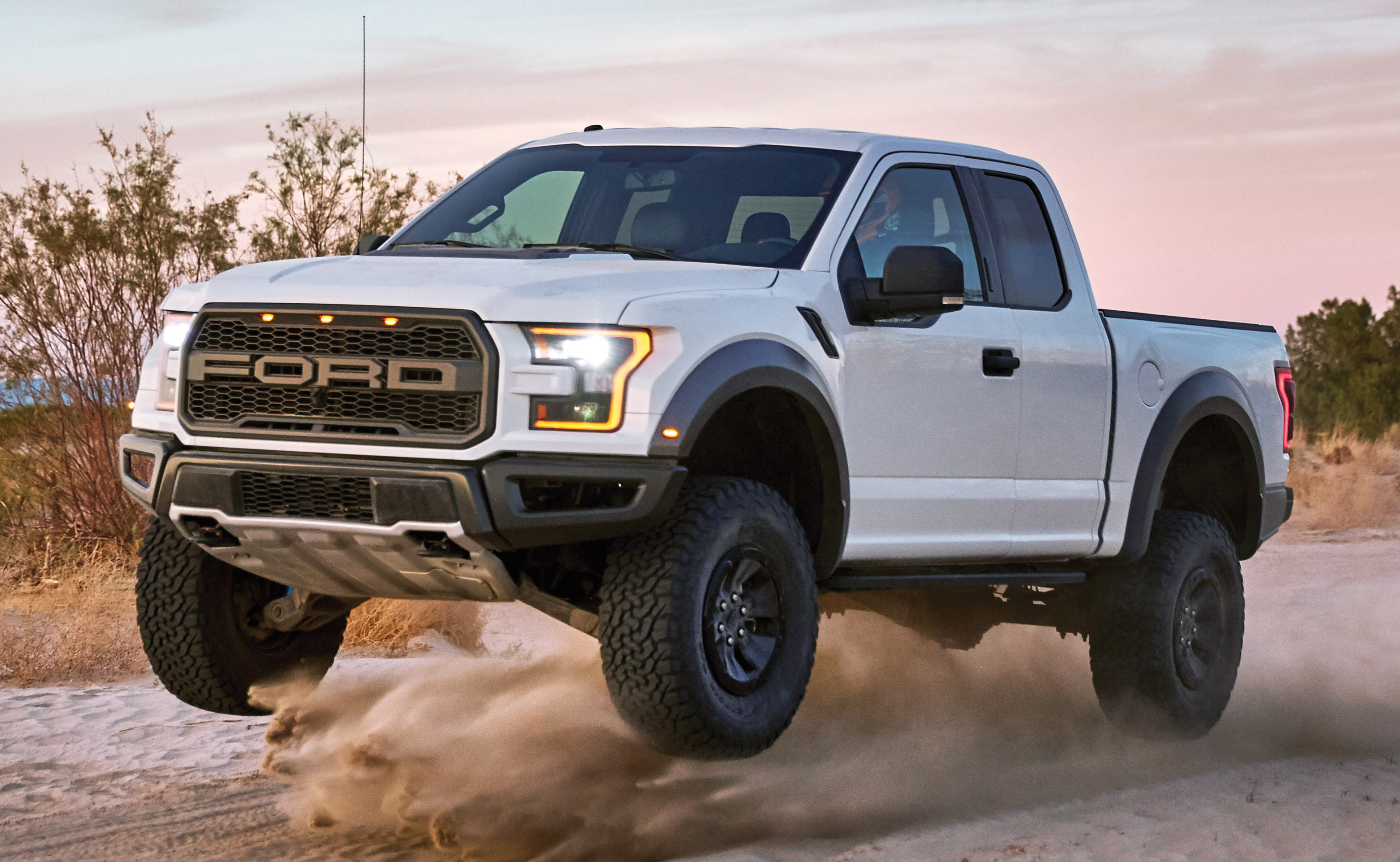 2020 Ford F-150 Raptor goes off-roading in the desert Image 486946