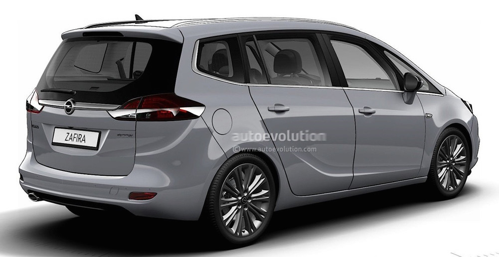 Opel Zafira 2018 >> 2017 Opel Zafira facelift leaked in online configurator Paul Tan - Image 499666