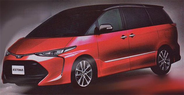Sharper Looks Watches >> 2016 Toyota Previa/Estima facelift - new interior pics