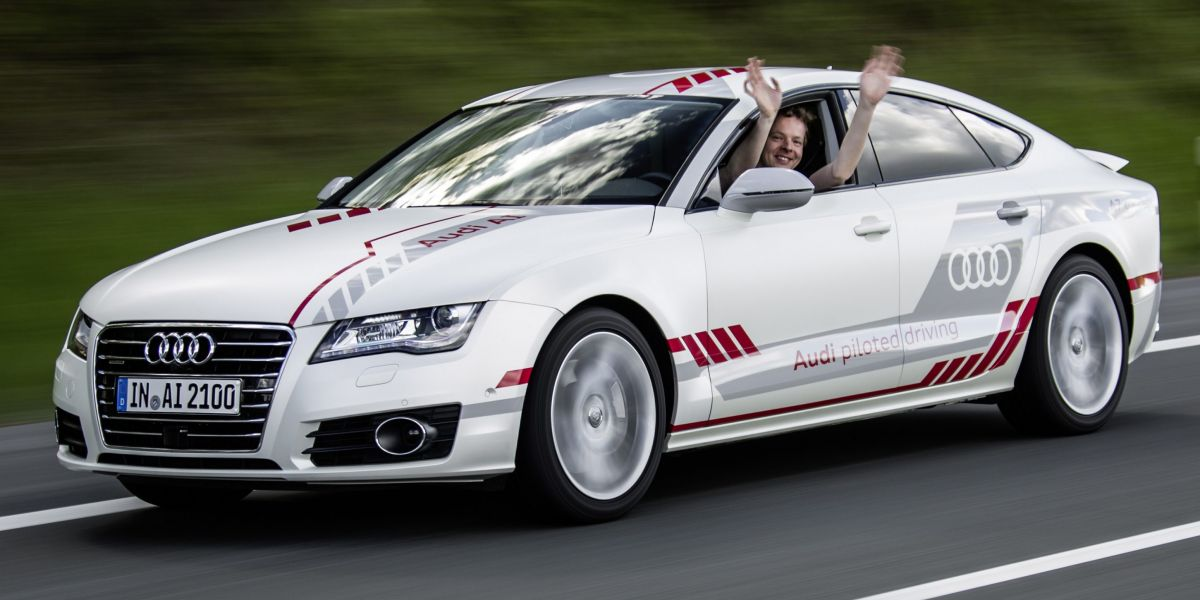 Audi Piloted Driving >> Audi A7 Piloted Driving Concept Now More Human