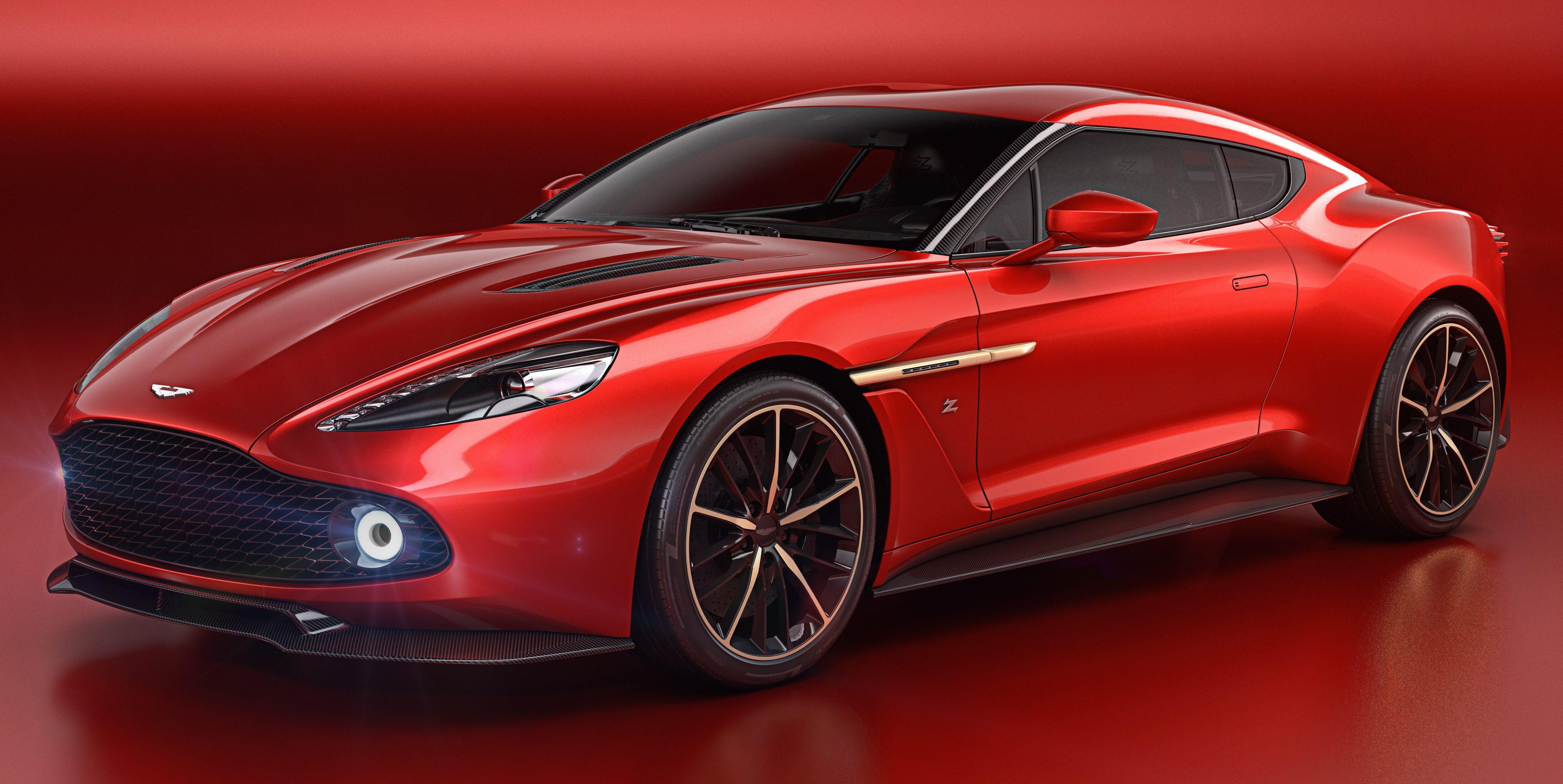 What Is Vanquish >> Aston Martin Vanquish Zagato Concept unveiled Image 496712