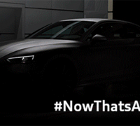 Audi A5 Coupe teaser