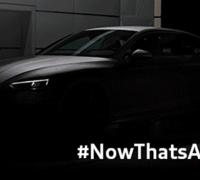 Audi A5 Coupe teaser