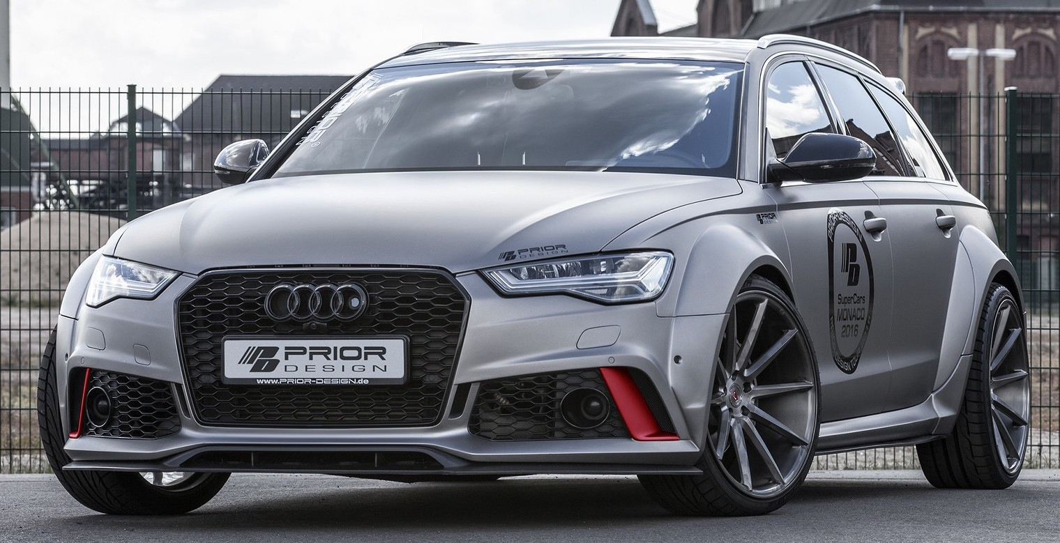 Audi RS6 and A6 Avant wide-body kit by Prior Design Paul ...