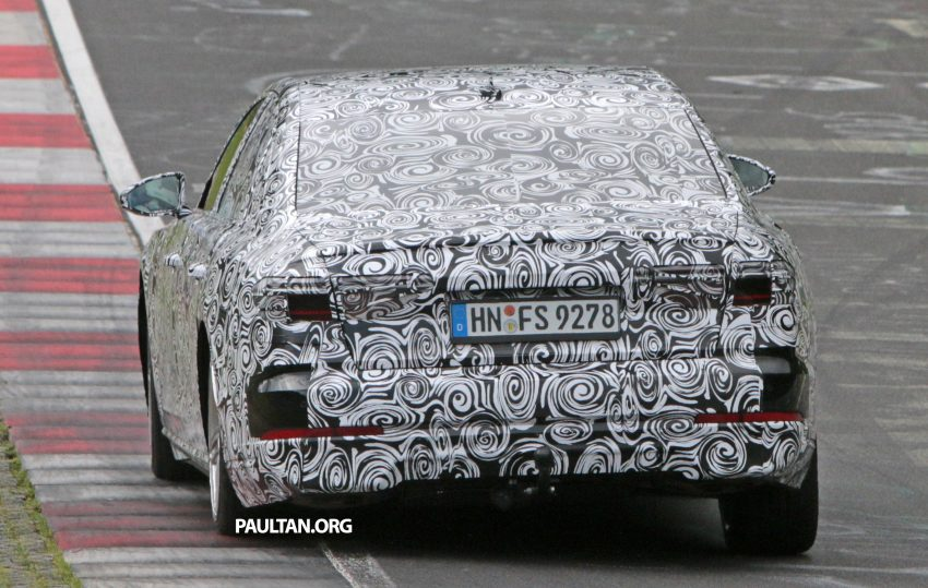 SPIED: 2017 Audi A8 spotted testing for the first time Image #508624