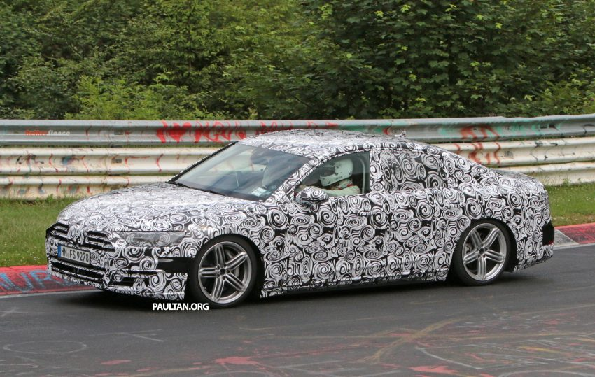 SPIED: 2017 Audi A8 spotted testing for the first time Image #508623