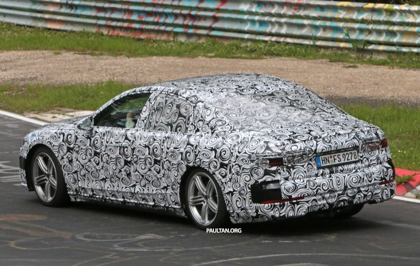 SPIED: 2017 Audi A8 spotted testing for the first time Image #508620