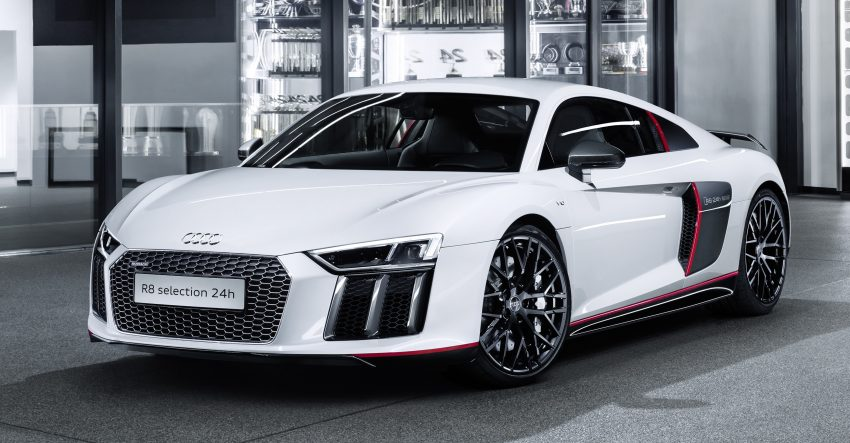 Audi R8 Coupe V10 plus selection 24h revealed – homage to brand's endurance racing success, 24 units Image #491086