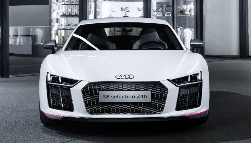 Audi R8 Coupe V10 plus selection 24h revealed – homage to brand's endurance racing success, 24 units Image #491090