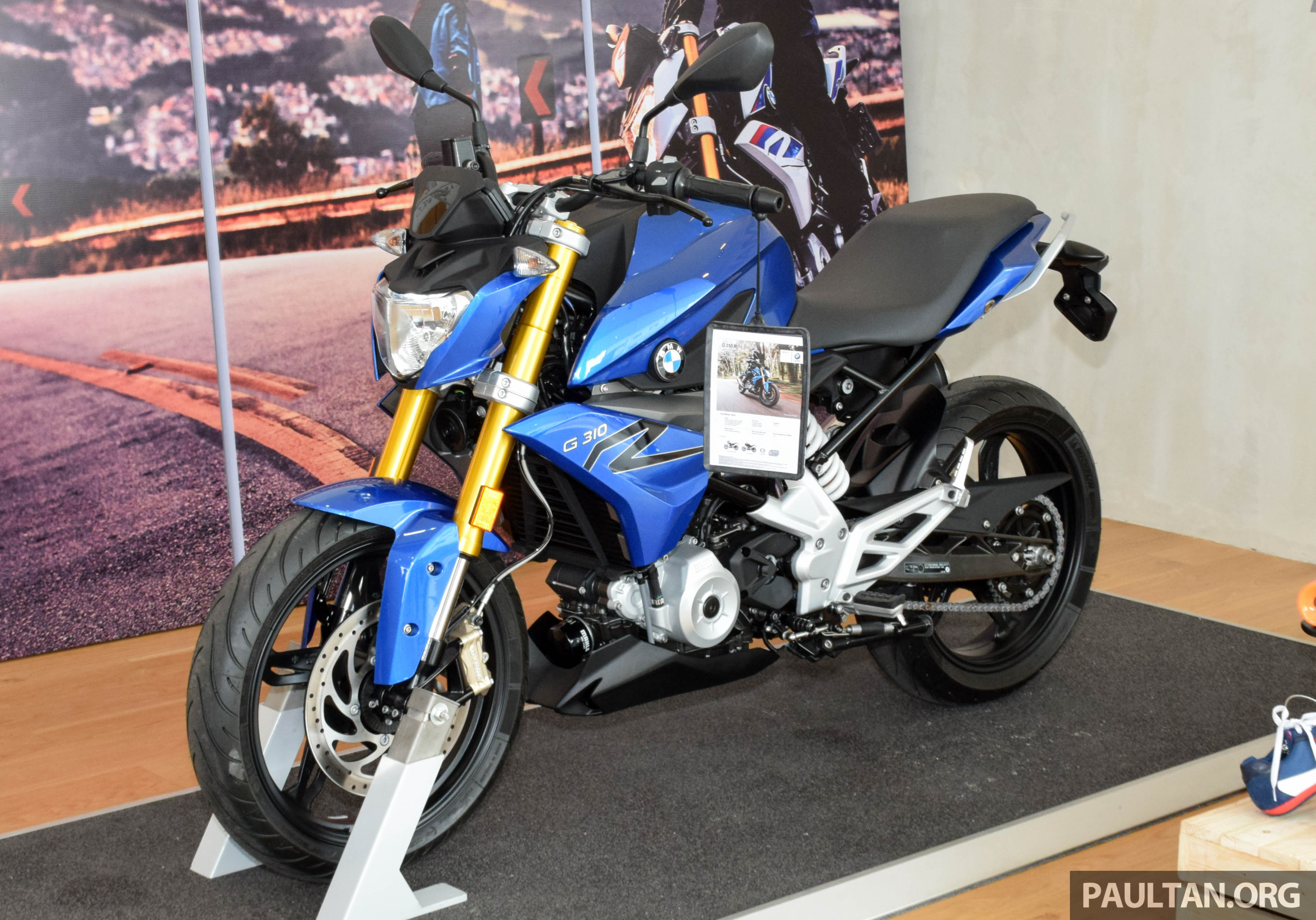 2016 Bmw Motorrad G310r Previewed In Malaysia