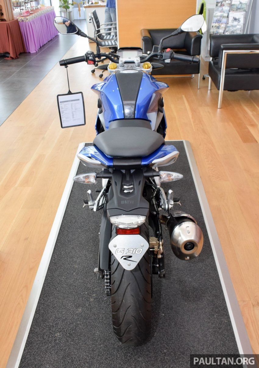 2016 BMW Motorrad G310R previewed in Malaysia Image #499581