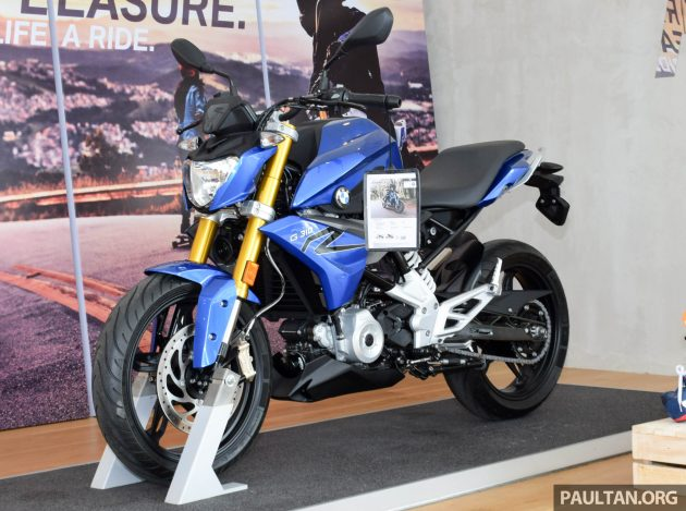 BMW G310R preview 2