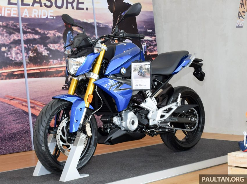 2016 BMW Motorrad G310R previewed in Malaysia Image #499569