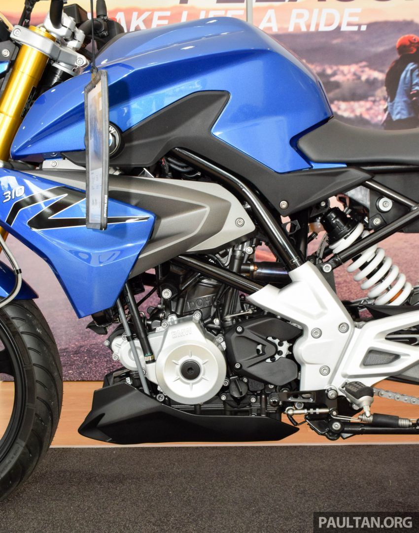 2016 BMW Motorrad G310R previewed in Malaysia Image #499591