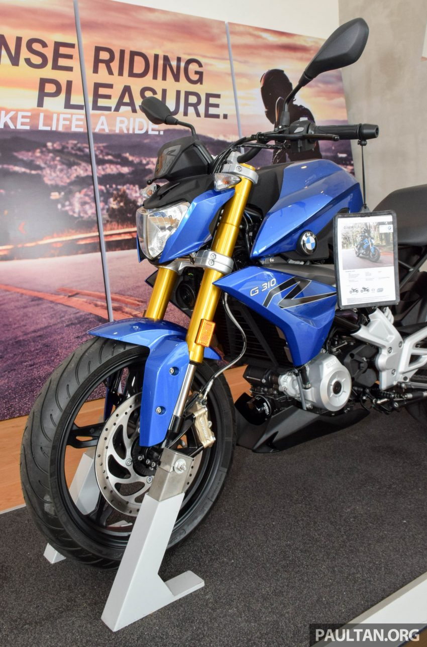 2016 BMW Motorrad G310R previewed in Malaysia Image #499593