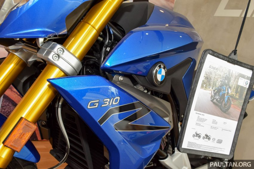 2016 BMW Motorrad G310R previewed in Malaysia Image #499594