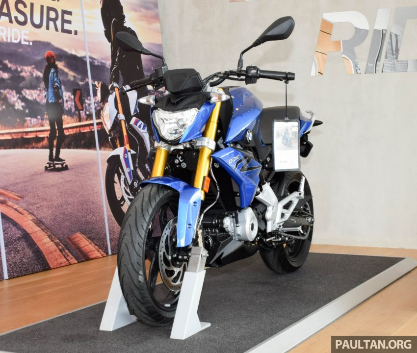 2016 BMW Motorrad G310R previewed in Malaysia Image #499570