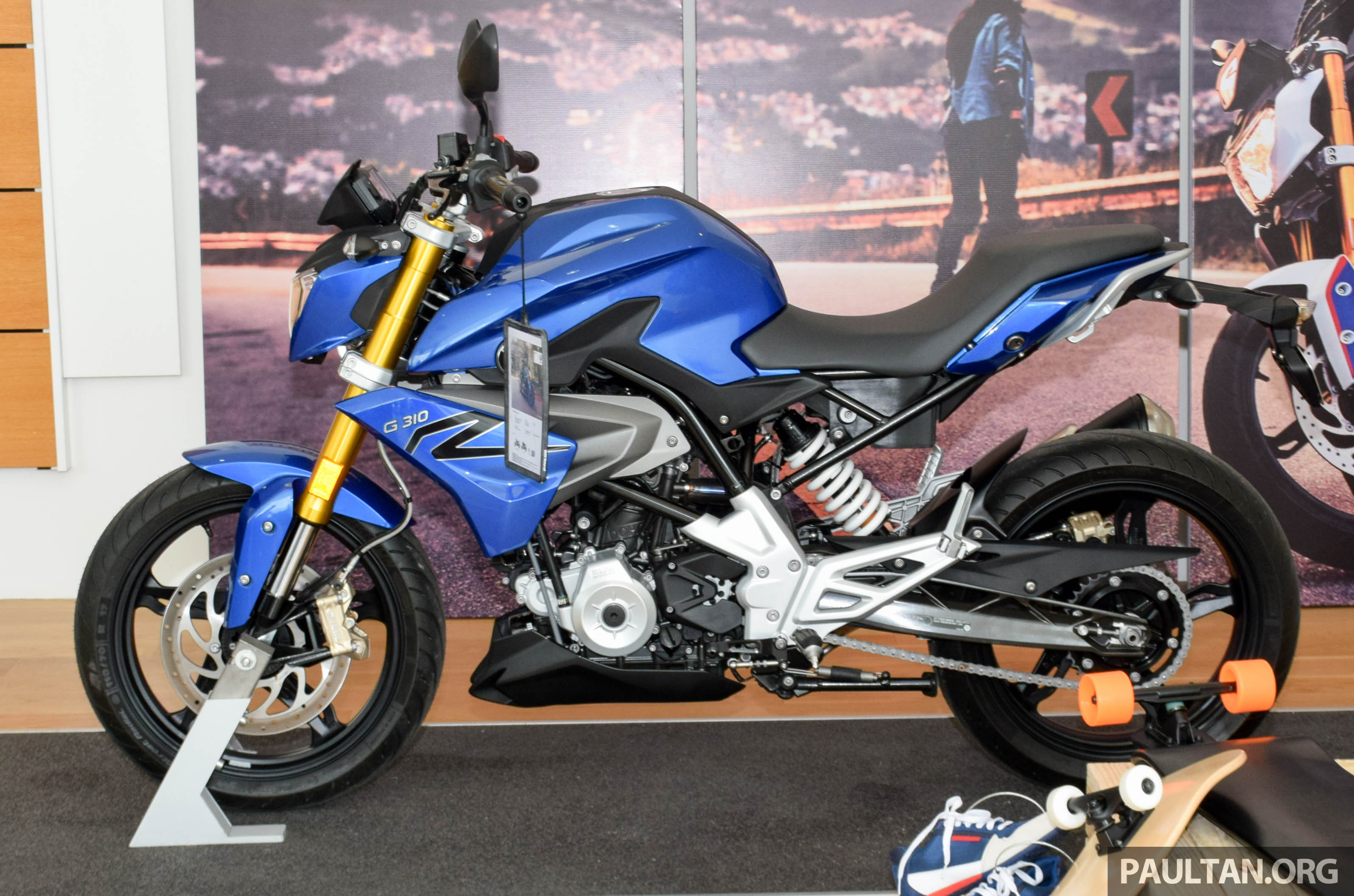 2016 Bmw Motorrad G310r Previewed In Malaysia Image 499571