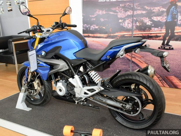 BMW G310R preview 5