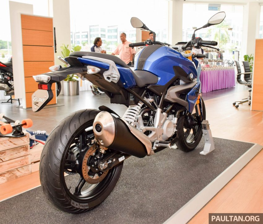 2016 BMW Motorrad G310R previewed in Malaysia Image #499573