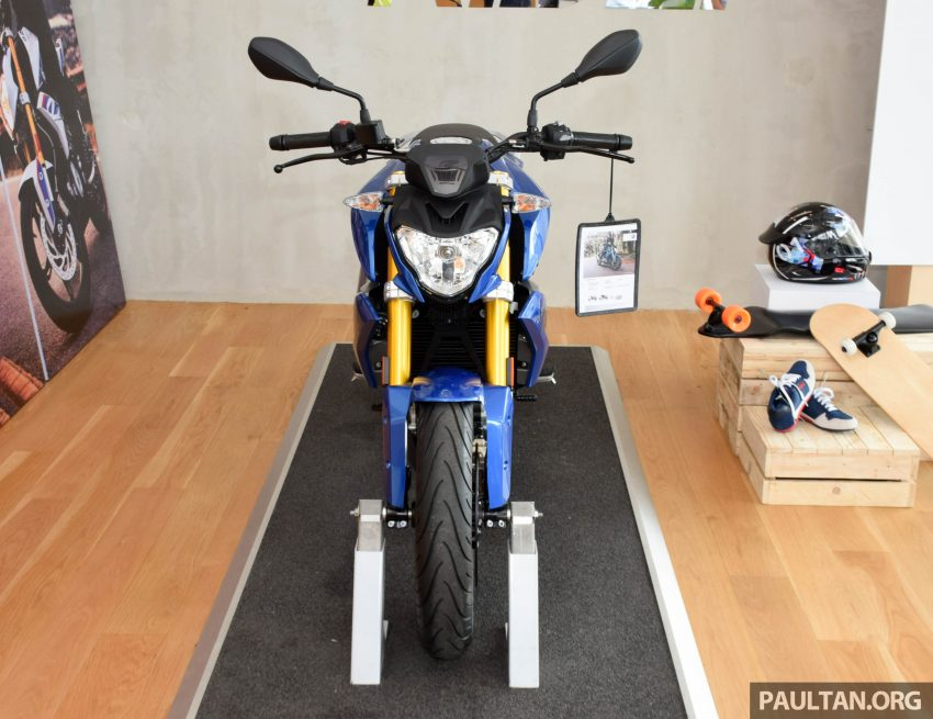 2016 BMW Motorrad G310R previewed in Malaysia Image #499575