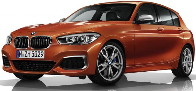 BMW M140i five-door-01