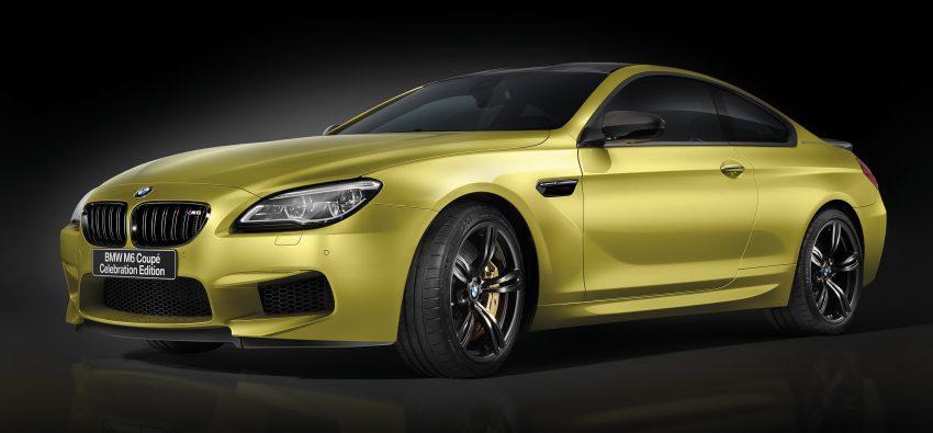 BMW M6 Coupe Celebration Edition revealed – 600 hp Image #500133