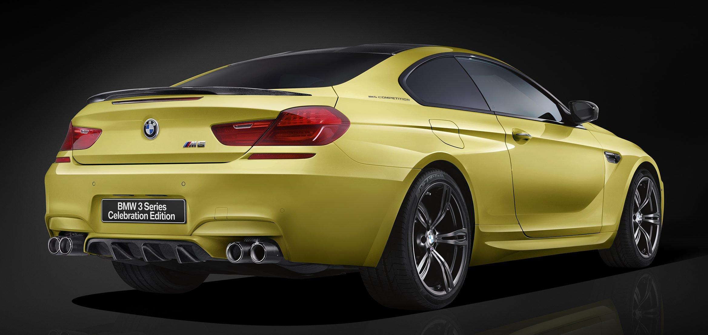 Bmw 3 2018 >> BMW M6 Coupe Celebration Edition revealed – 600 hp Paul Tan - Image 500134