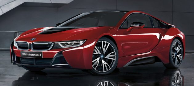 Bmw I8 Celebration Edition In Protonic Red For Japan