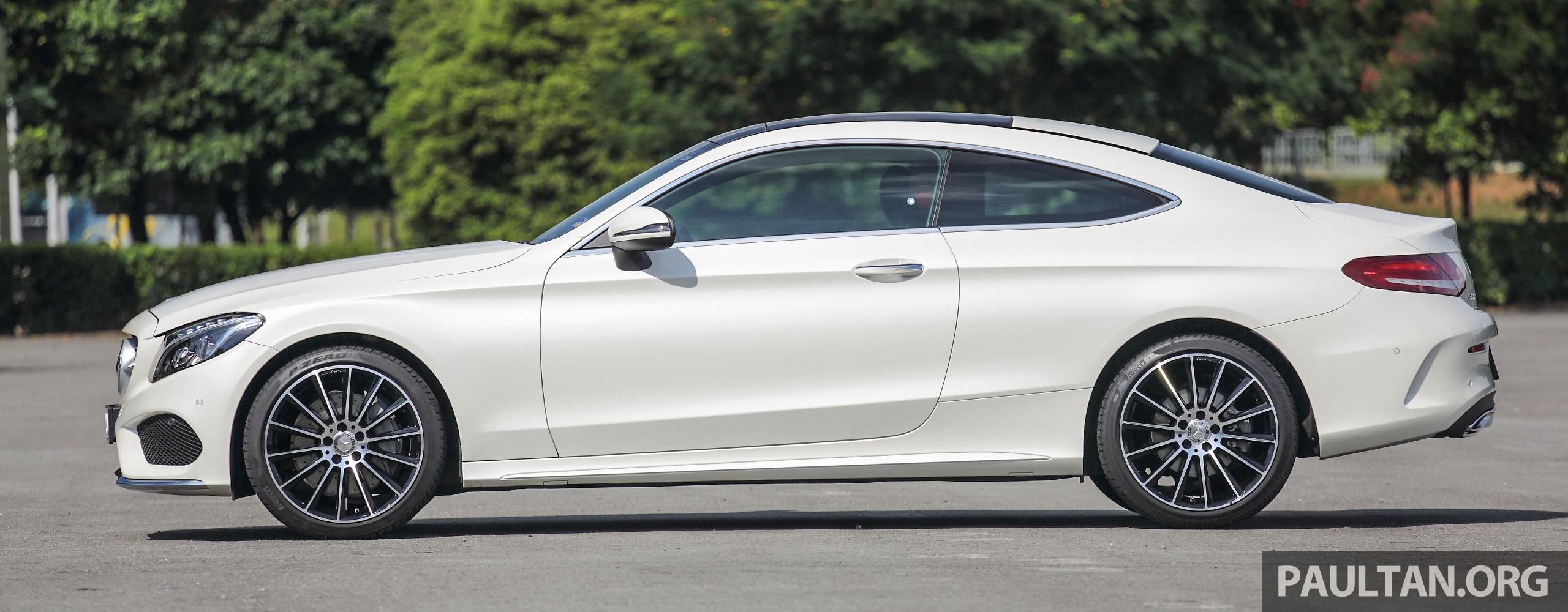 Mercedes Benz C White