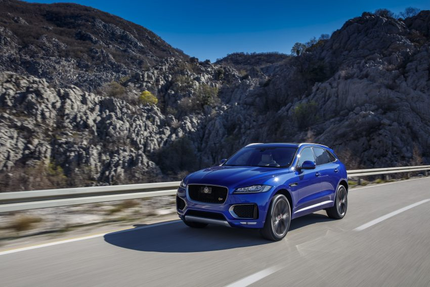 DRIVEN: Jaguar F-Pace – a go-anywhere Leaping Cat Image #496813