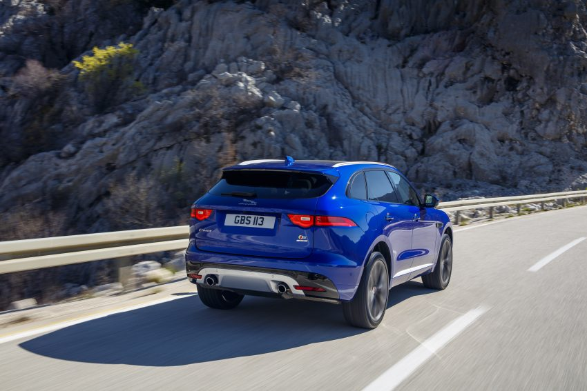 DRIVEN: Jaguar F-Pace – a go-anywhere Leaping Cat Image #496821