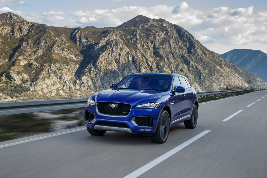 DRIVEN: Jaguar F-Pace – a go-anywhere Leaping Cat Image #496828