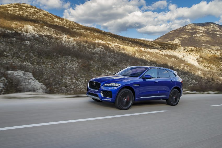 DRIVEN: Jaguar F-Pace – a go-anywhere Leaping Cat Image #496830