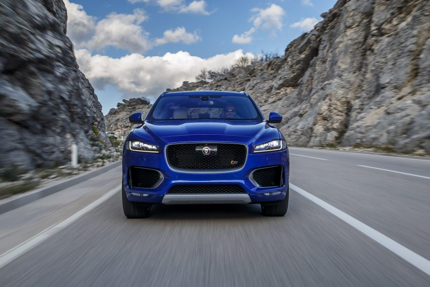 DRIVEN: Jaguar F-Pace – a go-anywhere Leaping Cat Image #496838