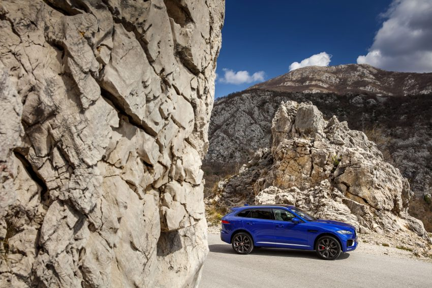 DRIVEN: Jaguar F-Pace – a go-anywhere Leaping Cat Image #496843