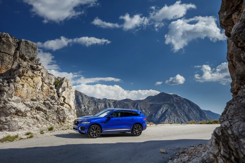 DRIVEN: Jaguar F-Pace – a go-anywhere Leaping Cat Image #496847