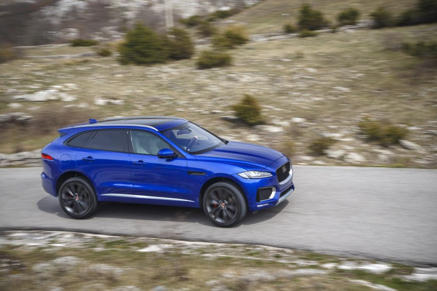 DRIVEN: Jaguar F-Pace – a go-anywhere Leaping Cat Image #496871
