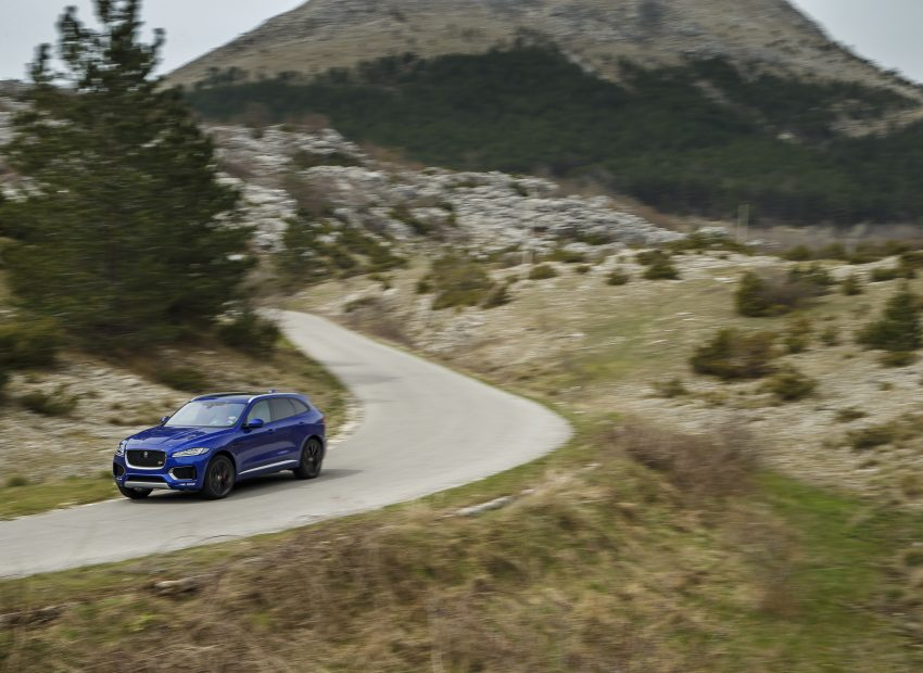 DRIVEN: Jaguar F-Pace – a go-anywhere Leaping Cat Image #496879