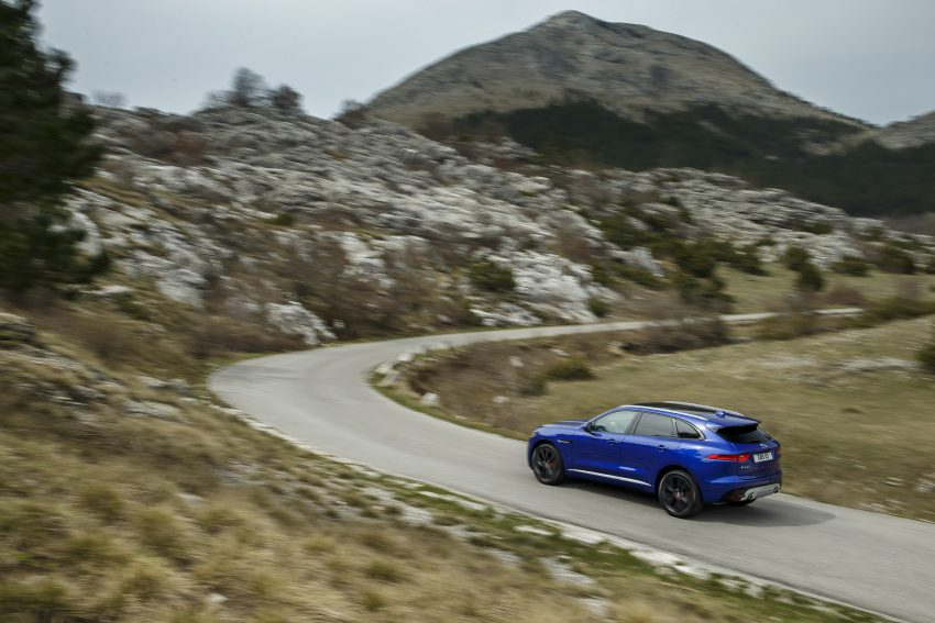 DRIVEN: Jaguar F-Pace – a go-anywhere Leaping Cat Image #496882