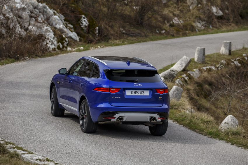DRIVEN: Jaguar F-Pace – a go-anywhere Leaping Cat Image #496883